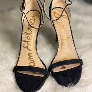 Sam Edelman patti suede black heel